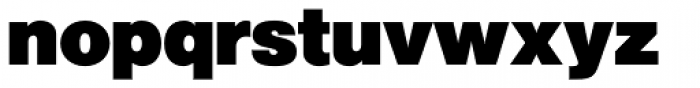 Newhouse DT ExtraBlack Font LOWERCASE
