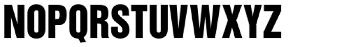 Newhouse DT SuperCondensed Black Font UPPERCASE