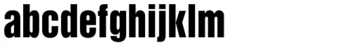 Newhouse DT SuperCondensed Black Font LOWERCASE