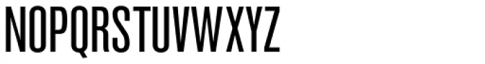 Newhouse DT SuperCondensed Font UPPERCASE