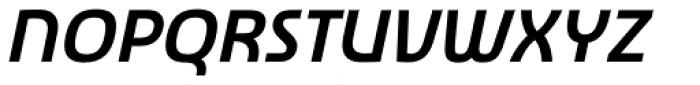 Newmark Hebrew Bold Italic Font UPPERCASE