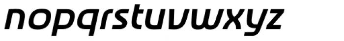Newmark Hebrew Bold Italic Font LOWERCASE