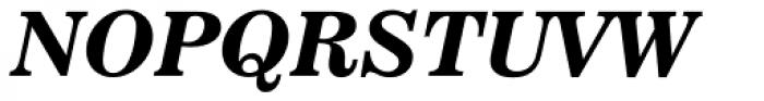 News 702 Bold Italic Font UPPERCASE