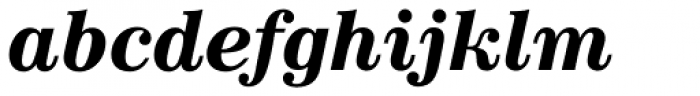 News 702 Bold Italic Font LOWERCASE