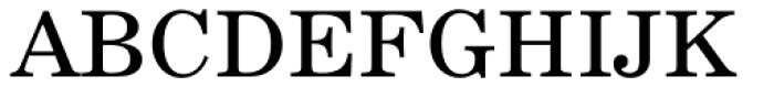 News 705 Roman Font UPPERCASE