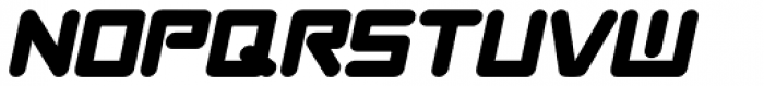 News Crew Oblique JNL Font LOWERCASE