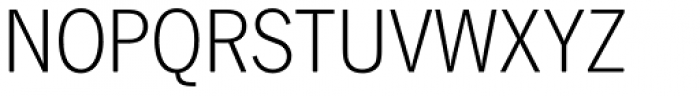 News Gothic DC D Light Font UPPERCASE