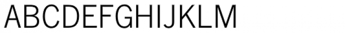 News Gothic DC D Light Font LOWERCASE