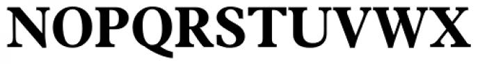 News Plantin Bold Font UPPERCASE