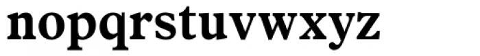 News Plantin Bold Font LOWERCASE