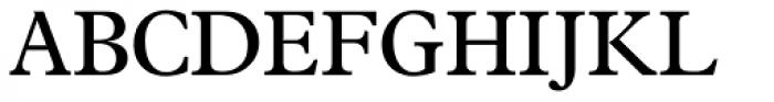 News Plantin Pro Roman Font UPPERCASE