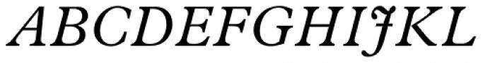 News Plantin Std Italic Font UPPERCASE