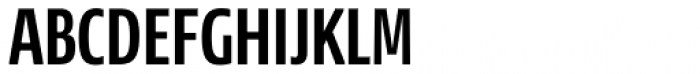News Sans Compressed Bold Comp Font UPPERCASE