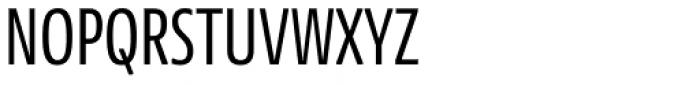 News Sans Compressed Regular Comp Font UPPERCASE