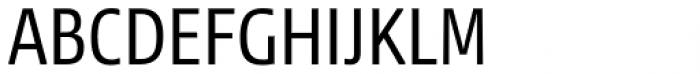 News Sans Condensed Regular Condensed Font UPPERCASE