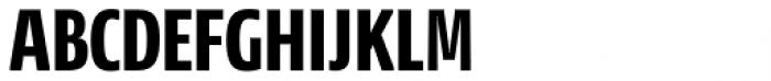 NewsSans Compressed ExtraBold Font UPPERCASE