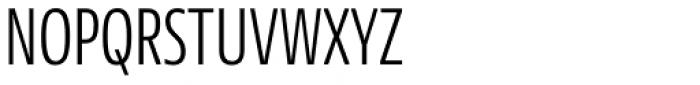 NewsSans Compressed Light Font UPPERCASE