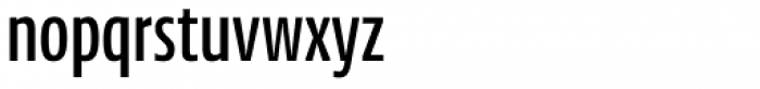 NewsSans Compressed SemiBold Font LOWERCASE