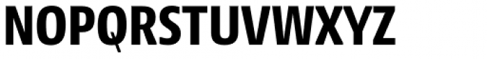 NewsSans Condensed ExtraBold Font UPPERCASE