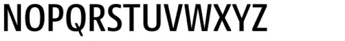 NewsSans Condensed SemiBold Font UPPERCASE