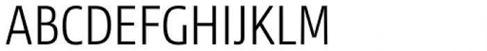 NewsSans Light Condensed Font UPPERCASE