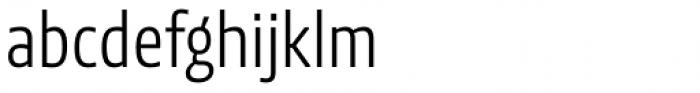 NewsSans Light Condensed Font LOWERCASE