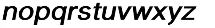 Newsanse Bold Italic Font LOWERCASE