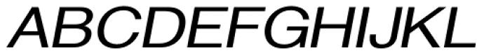 Newsanse DemiBold Italic Font UPPERCASE