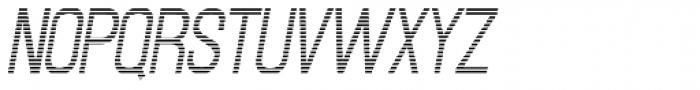 Newsbreak JNL Font UPPERCASE