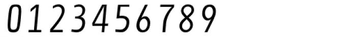 Newsletter Light Italic Font OTHER CHARS