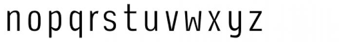 Newsletter Light Font LOWERCASE