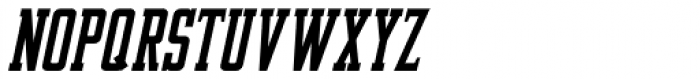 Newsmaker Oblique JNL Font LOWERCASE