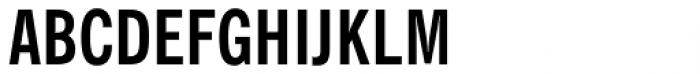 Newspoint Medium Cond Font UPPERCASE