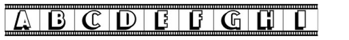 Newsreel Caps JNL Font UPPERCASE