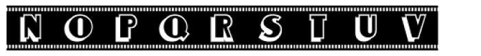 Newsreel Caps JNL Font LOWERCASE