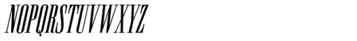 Newston Italic Font UPPERCASE