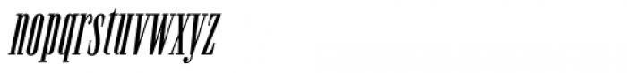 Newston Italic Font LOWERCASE