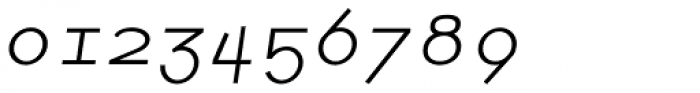 Newt Italic Font OTHER CHARS