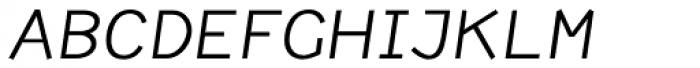 Newt Italic Font UPPERCASE