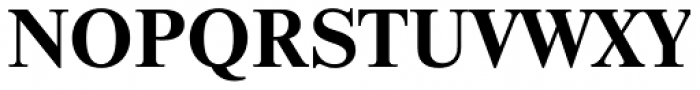 Newton Bold Font UPPERCASE