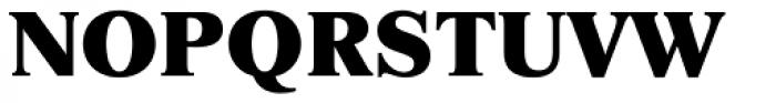 Newton ExtraBold Font UPPERCASE