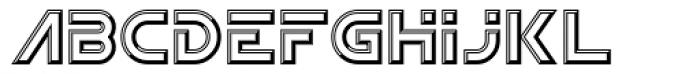 Newtron ICG Open Font UPPERCASE