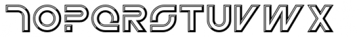 Newtron ICG Open Font LOWERCASE