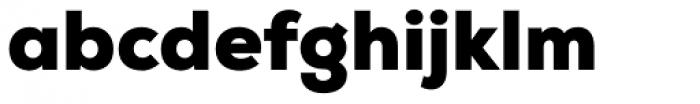 Nexa Black Font LOWERCASE