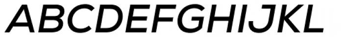 Nexa Bold Italic Font UPPERCASE