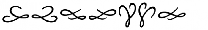 Nexa Rust Extras Script Font OTHER CHARS