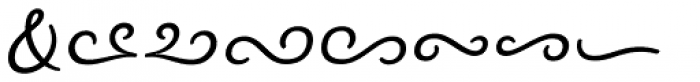 Nexa Rust Extras Script Font LOWERCASE