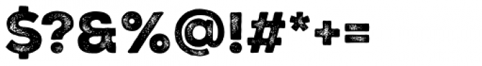 Nexa Rust Sans Black 2 Font OTHER CHARS
