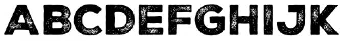 Nexa Rust Sans Black 2 Font UPPERCASE
