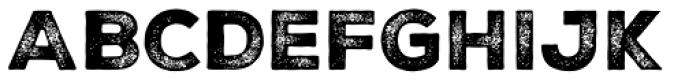 Nexa Rust Sans Black 3 Font UPPERCASE